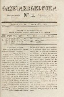 Gazeta Krakowska. 1831, nr53