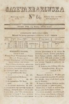 Gazeta Krakowska. 1831, nr64