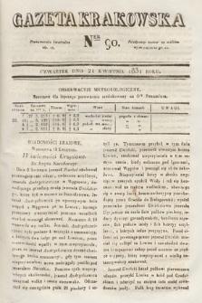 Gazeta Krakowska. 1831, nr90