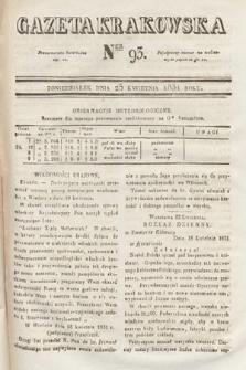 Gazeta Krakowska. 1831, nr93