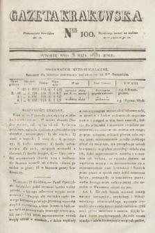 Gazeta Krakowska. 1831, nr100