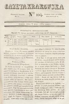 Gazeta Krakowska. 1831, nr104
