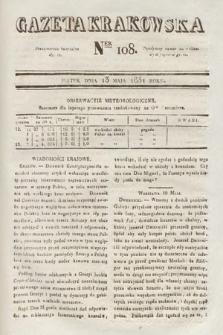 Gazeta Krakowska. 1831, nr108