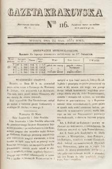 Gazeta Krakowska. 1831, nr116