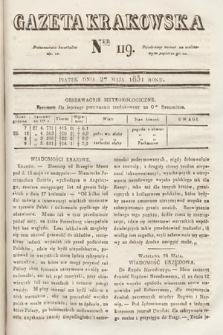 Gazeta Krakowska. 1831, nr119
