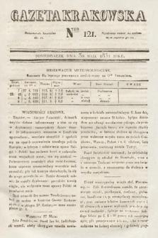 Gazeta Krakowska. 1831, nr121