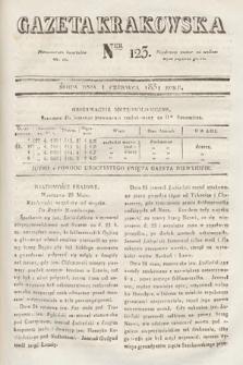 Gazeta Krakowska. 1831, nr123