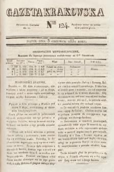 Gazeta Krakowska. 1831, nr124
