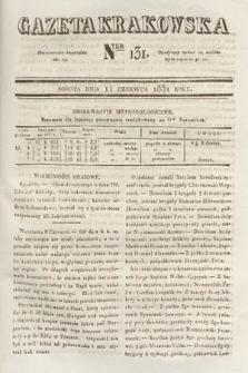 Gazeta Krakowska. 1831, nr131