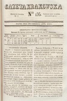 Gazeta Krakowska. 1831, nr136