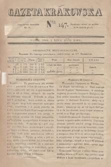 Gazeta Krakowska. 1831, nr147