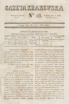 Gazeta Krakowska. 1831, nr153