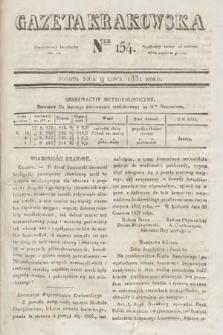 Gazeta Krakowska. 1831, nr154