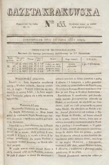 Gazeta Krakowska. 1831, nr155