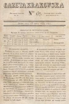 Gazeta Krakowska. 1831, nr157