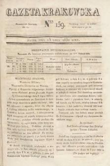 Gazeta Krakowska. 1831, nr159