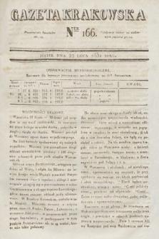 Gazeta Krakowska. 1831, nr166