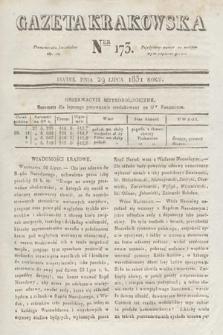 Gazeta Krakowska. 1831, nr173