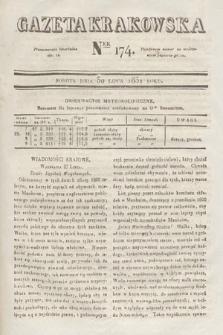 Gazeta Krakowska. 1831, nr174