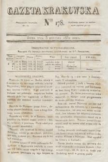 Gazeta Krakowska. 1831, nr178
