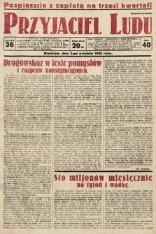 Przyjaciel Ludu. 1928, nr36