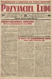 Przyjaciel Ludu. 1928, nr37