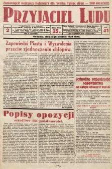 Przyjaciel Ludu. 1929, nr2