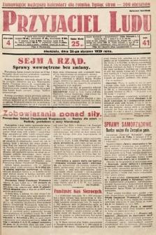 Przyjaciel Ludu. 1929, nr4