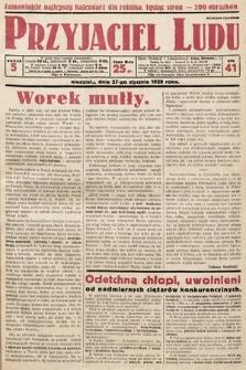 Przyjaciel Ludu. 1929, nr5
