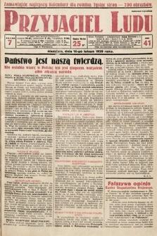 Przyjaciel Ludu. 1929, nr7