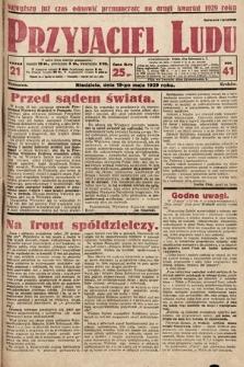 Przyjaciel Ludu. 1929, nr21