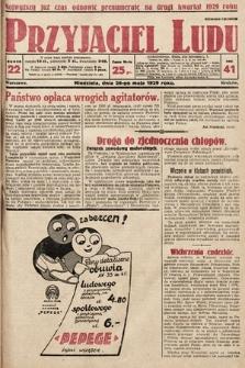 Przyjaciel Ludu. 1929, nr22