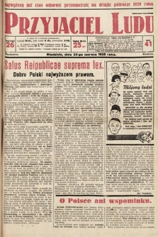 Przyjaciel Ludu. 1929, nr26