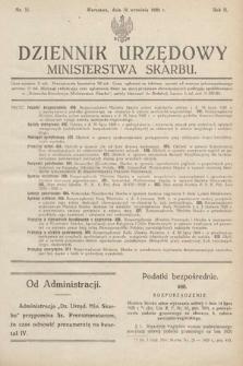 Dziennik Urzędowy Ministerstwa Skarbu. 1920, nr35