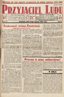 Przyjaciel Ludu. 1929, nr27