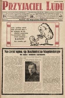Przyjaciel Ludu. 1929, nr51