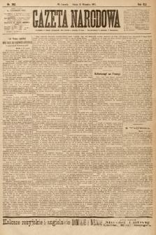 Gazeta Narodowa. 1901, nr262