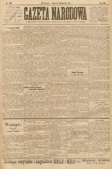 Gazeta Narodowa. 1901, nr287