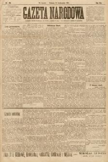 Gazeta Narodowa. 1901, nr291