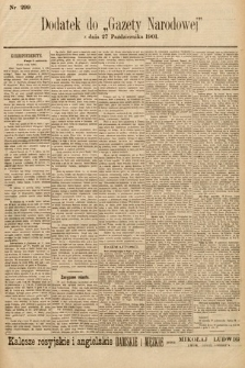 Gazeta Narodowa. 1901, nr299