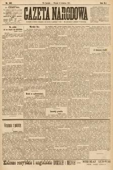 Gazeta Narodowa. 1901, nr342