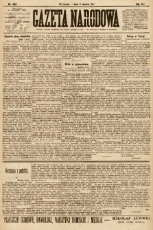 Gazeta Narodowa. 1901, nr343