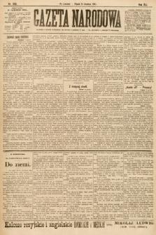 Gazeta Narodowa. 1901, nr345