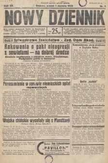 Nowy Dziennik. 1932, nr1