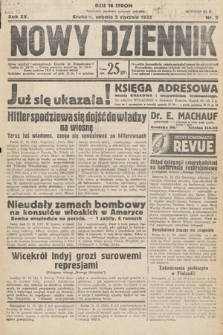 Nowy Dziennik. 1932, nr2
