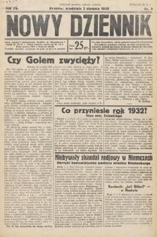 Nowy Dziennik. 1932, nr3