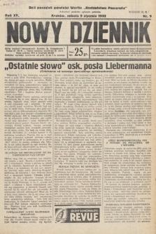 Nowy Dziennik. 1932, nr9