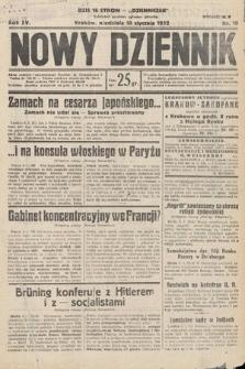 Nowy Dziennik. 1932, nr10