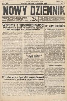 Nowy Dziennik. 1932, nr14