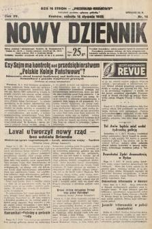 Nowy Dziennik. 1932, nr16